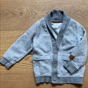 Toddler Grey Cardigan